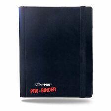 Pro Binder 4 Pocket Ultra Pro Trading Card Folder - Black - Holds 160 Cards