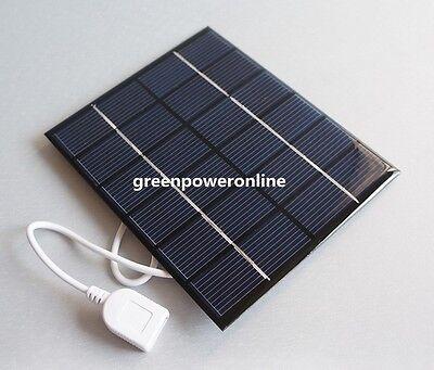 2W 6V 330mA Mini Solar Panel Module Solar System Epoxy USB Charger DIY B032