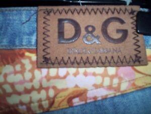 Colorata 40 Tg g Arancio Con Jeans Donna Banda D Denim 1X8T8pq
