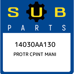 14030AA130-Subaru-Protr-cpint-mani-14030AA130-New-Genuine-OEM-Part