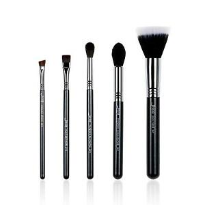 New-Makeup-brushes-set-Duo-fibre-Tapered-Highlighter-Blending-eyeliner-Brow-T126