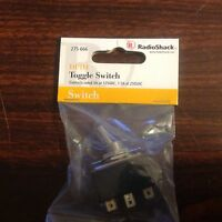 Radio Shack 275-666 Dpdt Heavy Duty Toggle Switch With On/off Plate