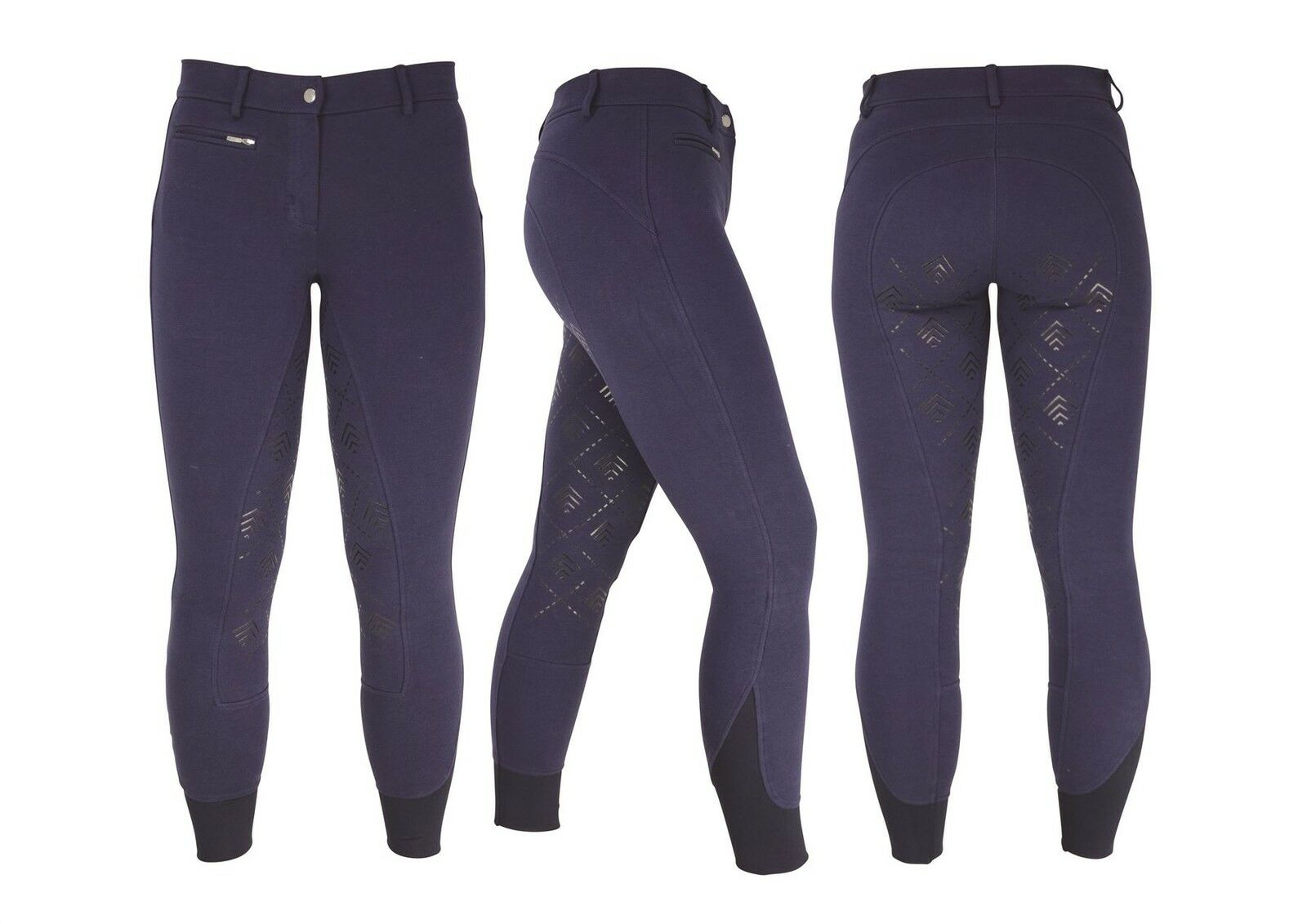 HyPERFORMANCE Derby Silicon Ladies Jodhpurs Horse Riding 10767P