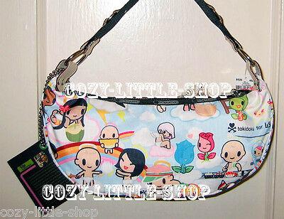 NWT LeSportsac TOKIDOKI PARADISO *BELLA* HOBO Bag~SUSHI BOY+BABIES~ A+++ PRINT