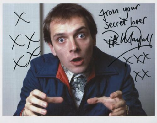 1 Certificate Rick Mayall SIGNED Photo 1st Generation PRINT Ltd No/'d