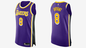 100% Authentic [Size L/XL] Nike Los Angeles Lakers Kobe Bryant ...