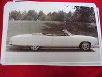 1967 Pontiac Bonneville Convertible 11 X 17 Photo Picture