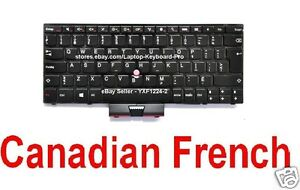 Keyboard for IBM Lenovo Thinkpad X40 X41 CF Canadian French 39T0899 42T3010