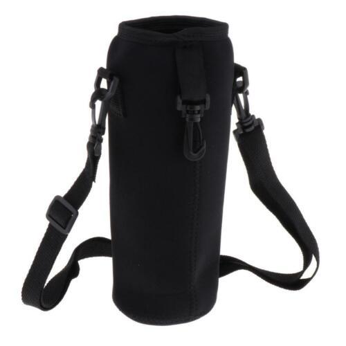 Details about  /Lovoski Water Bottle Carrier Insulated Cover Bag Shoulder Waist Holder Strap