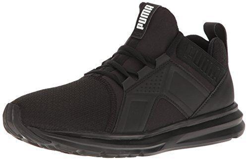 5913ce75227 PUMA ENZO 18949803 Black Mesh Synthetic Running Shoes Medium (d M) Men  Blacks 13 for sale online