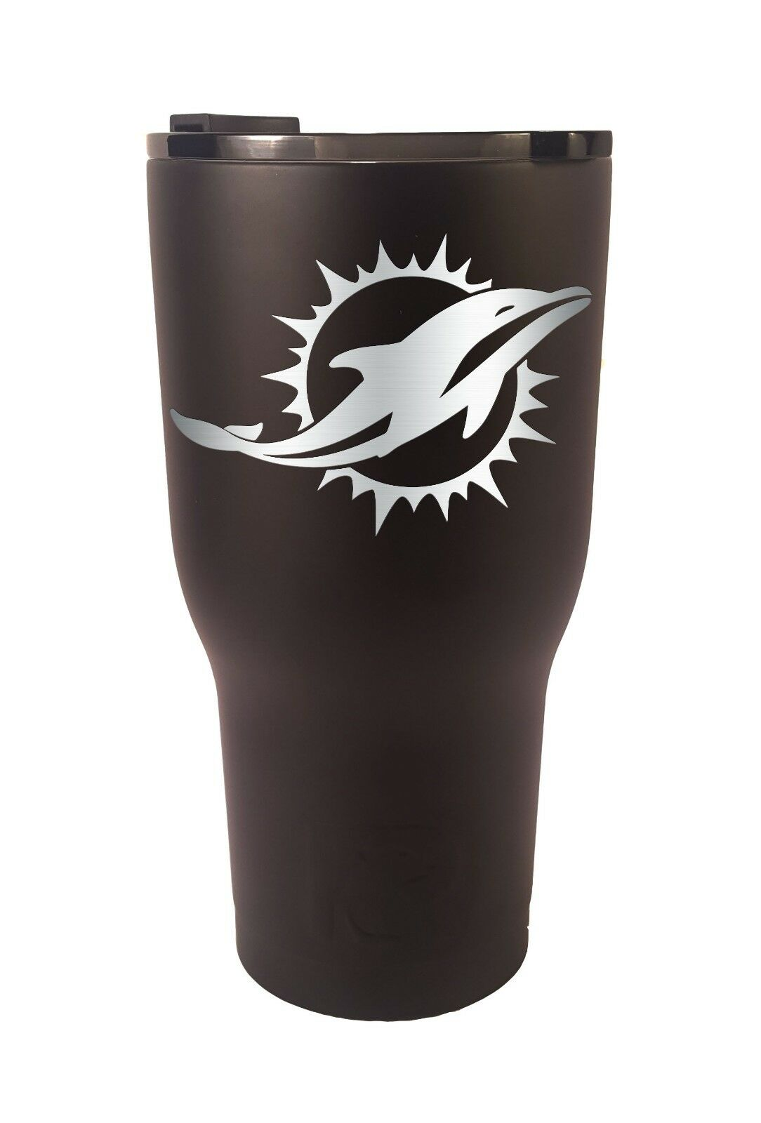 Miami Dolphins RTIC Laser Engraved 20 or 30 oz. Tumbler