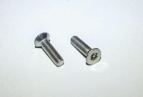 x10pcs M3 x 12 Screw w// Pin Tampur Flat Torx Security