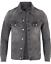 thumbnail 1 - New-Nudie-Mens-Slim-Organic-Denim-Jeans-Jacket-Billy-Desolation-Grey