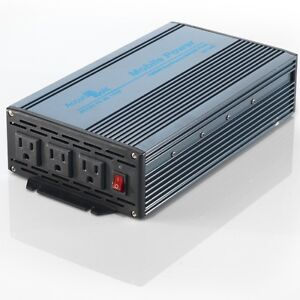 2d0889499a2d0 BRAND NEW 1200 2400 WATT 12V DC TO 115V AC MOBILE POWER INVERTER ...