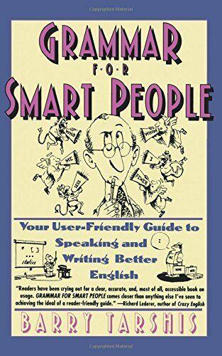 Grammatik Für Smart People Taschenbuch Barry Tarshis