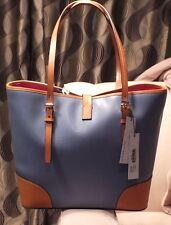 Brand New DOONEY & BOURKE Dusty Blue Colored  Dover Tote