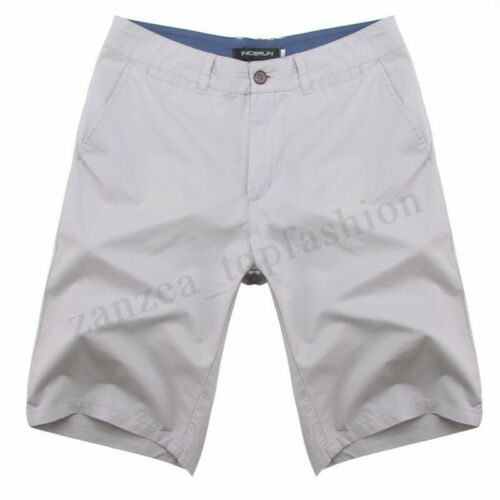 New Mens Chino Shorts Casual Cotton Cargo Combat Beach Half Pant Trousers Summer
