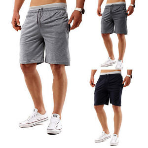 Men/'s Summer Beach Casual Shorts Athletic Gym Jogger Sports Straight Short Pants