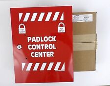 Brady Lr008e Red Steel Lockout Device Station With 2 Keys 12 X 10 Red Open Box