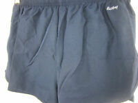 Eastbay, 1/2 Split 2 Running Shorts, Womens, Navy, Polyester, Xsmall, W/tag
