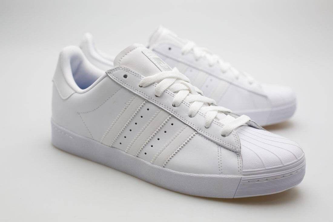 Adidas Men Superstar Vulc Adv white footwear white silver metallic F37463