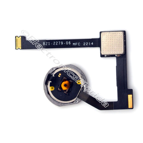 Home Button Key Flex Cable White Replacement Part for iPad Air 2 b372