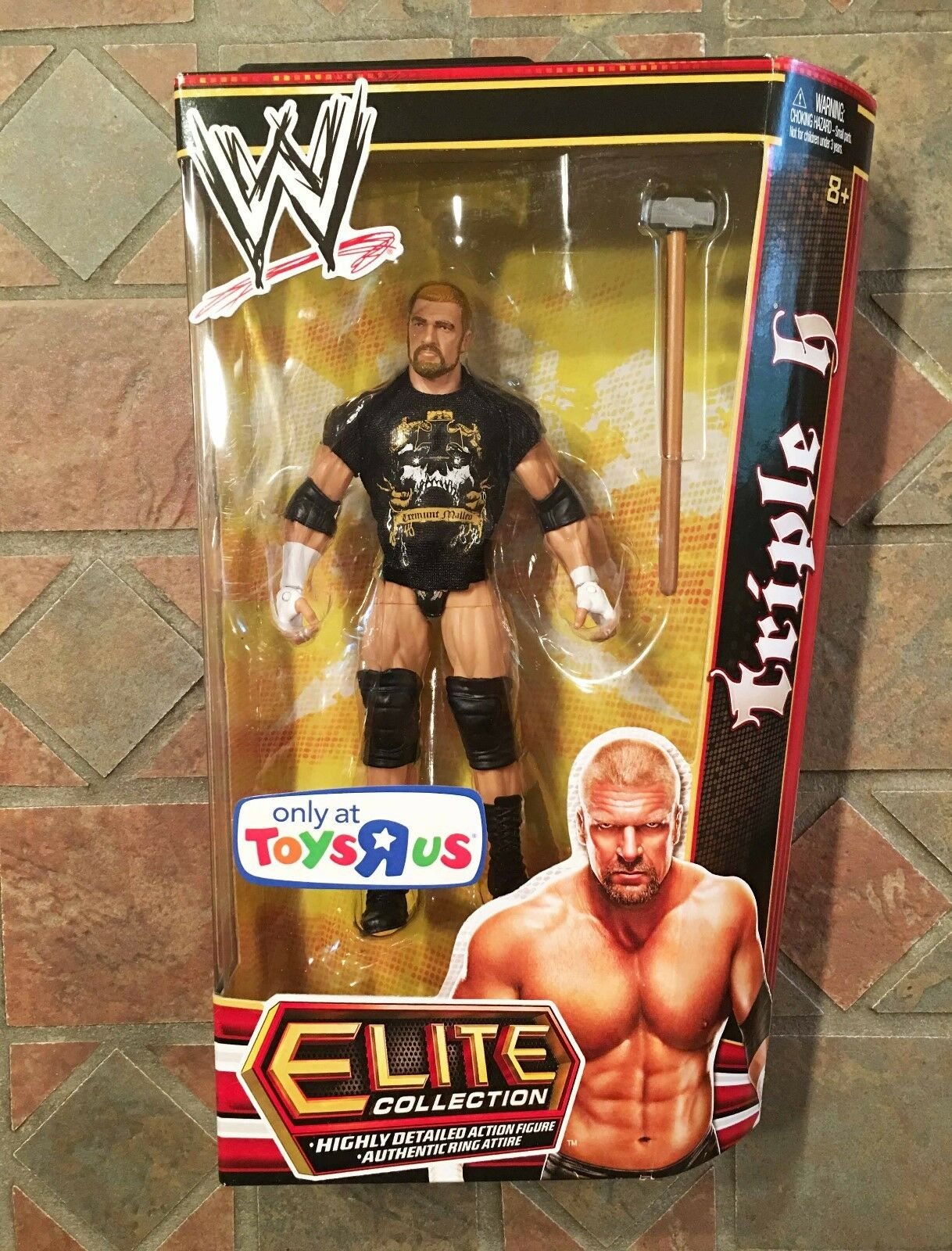 Mattel WWE Elite TRIPLE H Figure TRU Wrestemania 29 Exclusive Authority Sledge