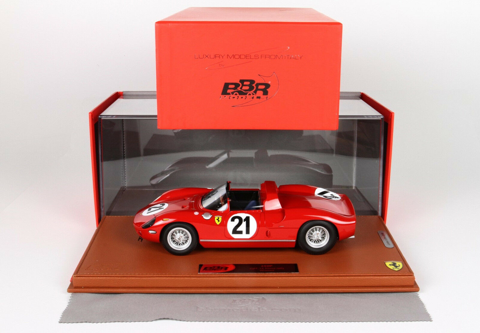 Ferrari 250 P Winner 24h le Mans 1963 lim.ed.80pcs  BBRC1826BV BBR
