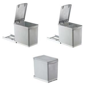 Details zu Einbau Abfallsammler Abfalleimer Mülleimer Küche Wesco  Mülltrennung Müllsammler