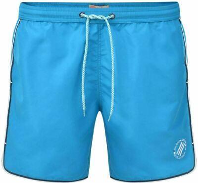 Kam Kbs325 Azzurro Tinta Unita Righe Pantaloncini Da Nuoto 2xl3xl4xl5xl6xl7xl8xl Prestazioni Affidabili