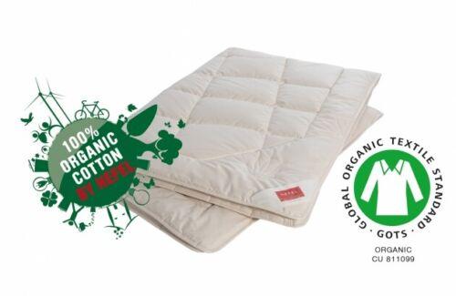 Hefel Summer Blanket Bio Silk Duvet 215 g/m² 135/200 and further dimensions
