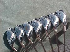 All Hybrids Womens LH Left Hand Golf Clubs Oversize Iron Set Lady Flex Graphite