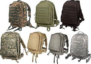Image Is Loading Rothco Molle Ii 3 Day Assault Pack Military