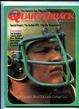 Pro Quarterback # 5 March 1972 Walt Patulski Larry Csonka Jim Plunkett     MBX16