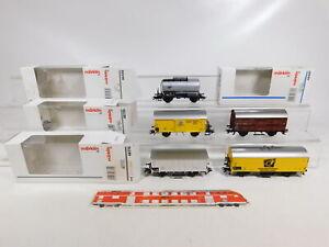 CF769-1-5x-Maerklin-H0-AC-Gueterwagen-DB-NEM-KK-48770-48759-etc-Abbrueche