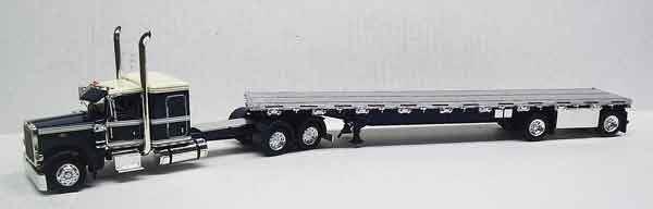 TONKIN échelle 1 53 PETERBILT modèle 389   BN   600077