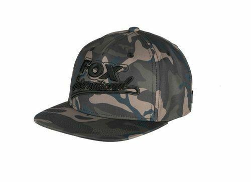 Fox Camo Flat Peak College Snapback Cap CHH004 Mütze Cap Cappie
