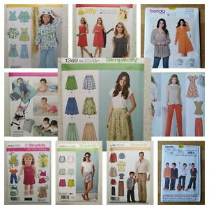 Simplicity-Burda-Sewing-Patterns-Brand-New-Clearance-Patterns