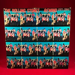 ROLLING-STONES-Rewind-1971-1984-UK-vinyl-LP-EXCELLENT-CONDITION-greatest-hits