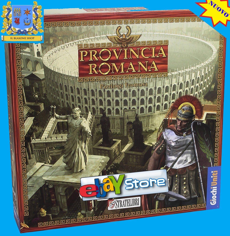 Provincia Romana Gioco Gioco Gioco da tavolo Board game  Stratelibri Italiano English Impero e1a0b4