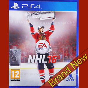 Nhl 16 Playstation 4 Ps4 12 Sports Ice Hockey Game Brand New