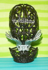 EVER AFTER HIGH RAVEN QUEEN DOLL SILVER FEATHER COLLAR NECKLACE FITS MONSTER MH