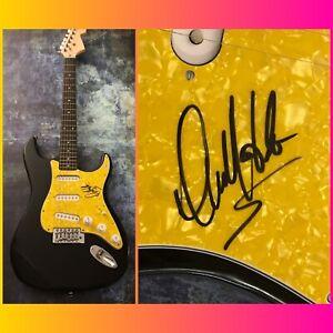 GFA The Village People Construction DAVID HODO Signed Electric Guitar D2 COA