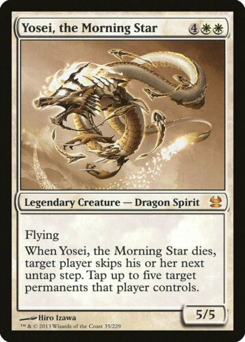 the Morning Star Modern Masters PLD White Mythic Rare CARD ABUGames Yosei