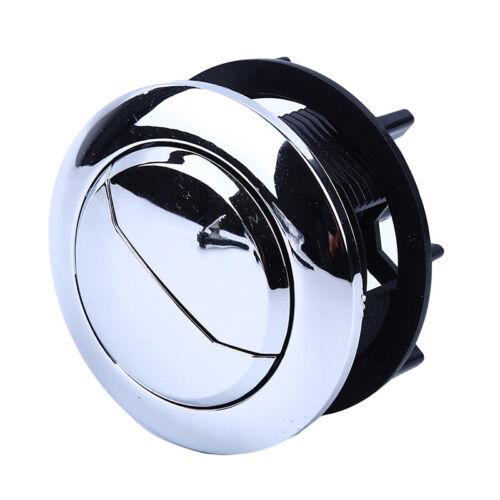 1 Pcs ABS Thread Dual Flush Toilet Water Tank Push Button Hole Cistern Lid Rod S