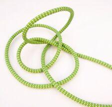 3m 3x1,5mm² Premium Textilkabel Grün/Weiß gepunktet Top EU Qualität Stoffkabel