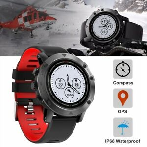 1-28-034-GPS-Waterproof-IP68-Heart-Rate-Compass-Outdoor-Sports-Tracker-Smart-Watch