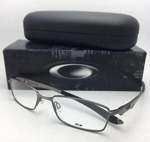 e8290b2d452 New OAKLEY Eyeglasses WINGSPAN OX5040-0253 53-17 138 Brushed Chrome ...