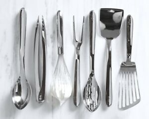 Details about All-Clad Metalcrafters Stainless Steel Kitchen Utensils -  Choice of Utensil NWT