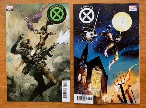 Powers of X 4 House of X 5 Mike Huddleston 1:10 Incentive Variants 2019 NM+